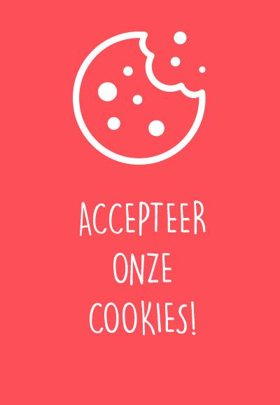 accepteer onze cookies