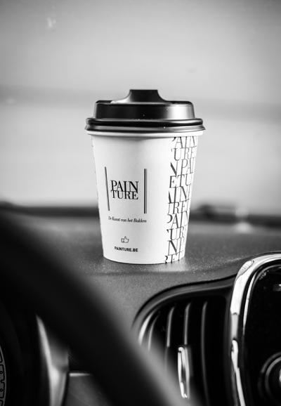 Koffie en koffiekoek ontbijt