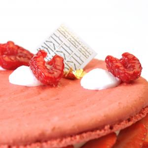 Macarontaart detail
