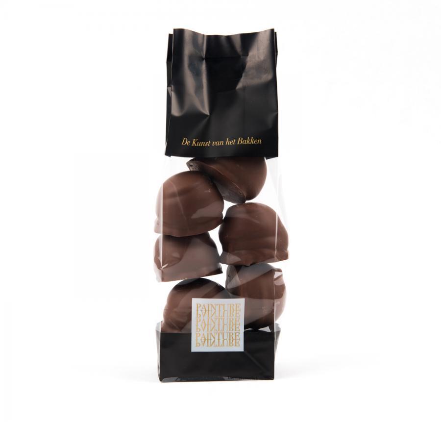 Artisanale melo cakes - melkchocolade
