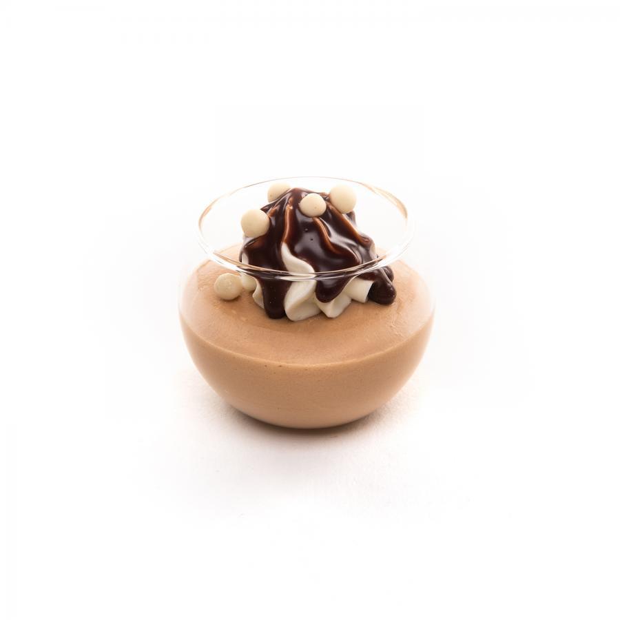 Chocolade mousse - mini glaasje