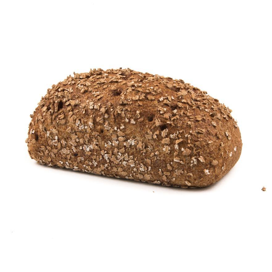 Donker brood met 100% volkorenmeel